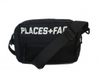 PLACES+FACES(プレイセス+フェイセス)の古着「Shoulder Pouch Bag」|ブラック