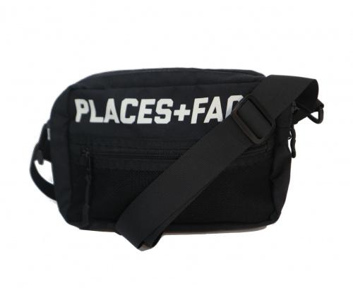 PLACES+FACES(プレイセス+フェイセス)PLACES+FACES (プレイセス+フェイセス) Shoulder Pouch Bag ブラックの古着・服飾アイテム