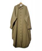 THE SHINZONE(ザ シンゾーン)の古着「WINDY SHIRT DRESS ワンピース」|ベージュ