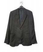 EMPORIO ARMANI(エンポリオアルマーニ)の古着「VINCENT LINE 1Bジャケット」 ブラック