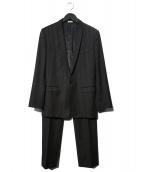 DOLCE & GABBANA(ドルチェアンドガッバーナ)の古着「セットアップ1Bスーツ」|ブラック
