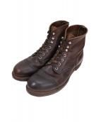 RED WING(レッドウィング)の古着「8111 IRON RANGE ブーツ」|ブラウン