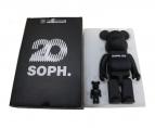 BE@RBRICK(ベアブリック)の古着「SOPH.20 BE@RBRICK 100% & 400%」 ブラック