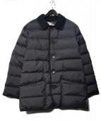 Traditional Weatherwear(トラディショナル ウェザーウェア)の古着「WAVERLY DOWN PARKA ダウンコート」|ネイビー