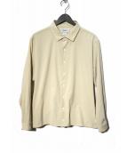 YAECA(ヤエカ)の古着「Comfort Shirt-relax Square シャツ」|ベージュ
