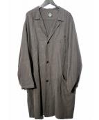 Porter Classic(ポータークラシック)の古着「TENCEL COAT コート」|グレー