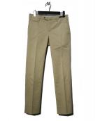 PT01(ピーティーゼロウーノ)の古着「HAMPTONS SUPER SLIM FITパンツ」|ベージュ