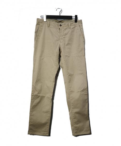 INCOTEX(インコテックス)INCOTEX (インコテックス) トラウザーパンツ ベージュ サイズ:PATTERN 30 SLIM FIT G.D. GABARDIND STRETCH の古着・服飾アイテム