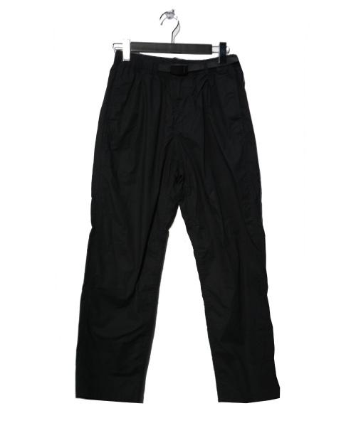GRAMICCI(グラミチ)GRAMICCI (グラミチ) WEATHER TUCK TAPERED PANTS ブラック サイズ:Mの古着・服飾アイテム
