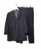 HERMES(エルメス)の古着「セットアップ2Bスーツ」|ネイビー