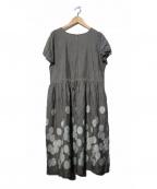 Sally Scott(サリースコット)の古着「刺繍ワンピース」|グレー