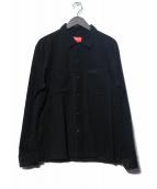 Supreme(シュプリーム)の古着「19AW Corduroy Shirt シャツ」|ブラック
