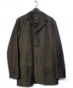 HUGO BOSS()の古着「ステンカラーコート」 ブラック