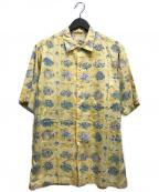 reyn spooner(レイン スプナー)の古着「80's アロハシャツ」 イエロー