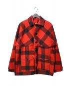 FILSON GARMENT(フィルソンガーメント)の古着「ダブルマッキーノ クルーザージャケット」|レッド