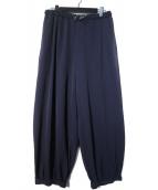 PS Paul Smith(ピーエスポールスミス)の古着「ジョガーバルーンパンツ」|ネイビー