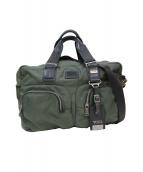 TUMI(トゥミ)の古着「ALPHA BRAVO ビジネスバッグ」|グリーン