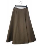 BLENHEIM(ブレンヘイム)の古着「ロングスカート」|グレー