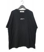 LEGENDA(レジェンダ)の古着「APESHITルーズシルエットクルーネックTシャツ」|ブラック