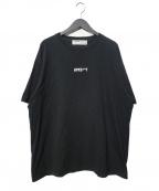 LEGENDA(レジェンダ)の古着「APESHITルーズシルエットクルーネックTシャツ」 ブラック