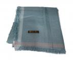 LORO PIANA(ロロピアーナ)の古着「カシミヤ シルク ストール」|ブルー