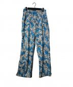 MASSES(マシス)の古着「SPLASH PANTS パンツ」|スカイブルー