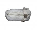 JIL SANDER(ジルサンダー)の古着「中綿 ナイロンショルダーバッグ」|ホワイト