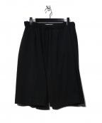 CASEY CASEY(ケーシーケーシー)の古着「YAMA COURT SHORT パンツ」 ブラック
