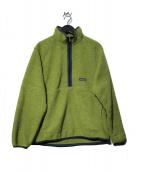 Patagonia(パタゴニア)の古着「SYNCHILLA シンチラ フリースハーフジップジャケット」 黄緑