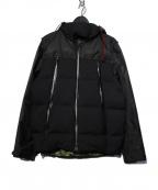 narifuri(ナリフリ)の古着「19AW 2WAYサイクルダウンジャケット」 ブラック