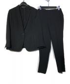 UNTITLED(アンタイトル)の古着「洗えるセットアップスーツ」|ブラック