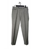 PT01(ピーティーゼロウーノ)の古着「SUPER100sウール パンツ」|グレー