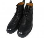 MAISON KITSUNE(メゾンキツネ)の古着「lace-up boots ブーツ」|ブラック