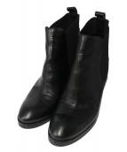 FABIO RUSCONI(ファビオルスコーニ)の古着「サイドゴアブーツ」|ブラック