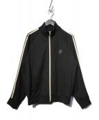 FRED PERRY(フレッドペリー)の古着「ユニオンジャックトラックジャケット」|ブラック