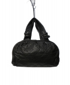 CHANEL(シャネル)の古着「ココマーク レザーキルティングハンドバッグ」|ブラック