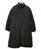 TOKUKO1erVOL(トクコプルミエヴォル)の古着「ロングダウンコート」 ブラック