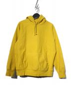 SUPREME(シュプリーム)の古着「Micro Logo Hooded Sweat ロゴパーカー」|イエロー