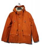 FIDELITY(フィデリティ)の古着「マウンテンパーカー」|オレンジ