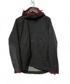 KLATTERMUSEN(クレッタルムーセン)の古着「Allgron Jacket アルグロンジャケット」 レッド×ブラック