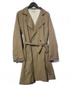 ordinary fits(オーディナリーフィッツ)の古着「ATELIER COAT 2 ロングコート」|ベージュ