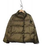 23区(ニジュウサンク)の古着「洗える シレータフタ ダウンショートコート ダウンジャケット」|カーキ