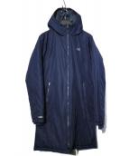 UNDER ARMOUR(アンダーアーマー)の古着「INSULATED LONG CORT コート」|ネイビー