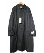 DURBAN(ダーバン)の古着「ダウンライナー付ステンカラーコート」|グレー