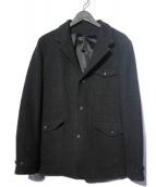 wjk(ダブルジェイケイ)の古着「OU-classical work jacket ジャケット」 ブラック