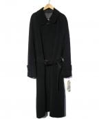 allegri(アレグリ)の古着「ウールロングコート」|ブラック