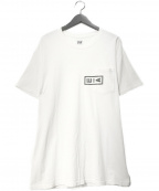 AiE(エーアイイー)の古着「ロゴプリントポケットTee」 ホワイト