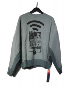 C.E(シーイー)の古着「OVERDYE MD RANGE CREW NECK」|Grey