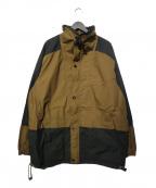 MASSES(マシス)の古着「19AW TWO TONE FIELD JKT ジャケット」|ブラウン×ブラック