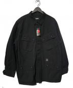 MASSES(マシス)の古着「BDU JKT R BDUジャケット」|ブラック